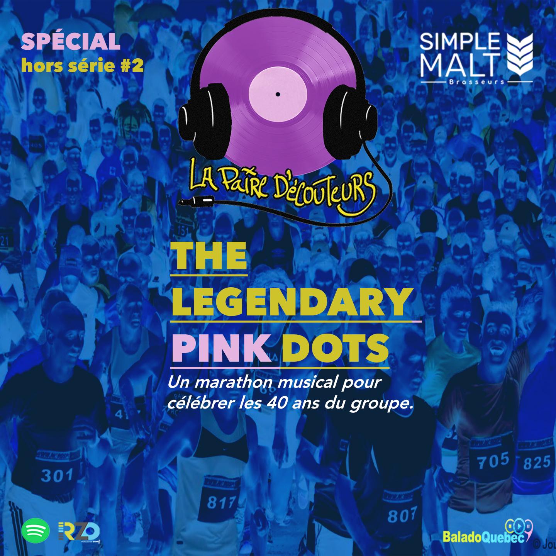La Paire D'écouteurs HORS SÉRIE The Legendary Pink Dots ( 40 ans )