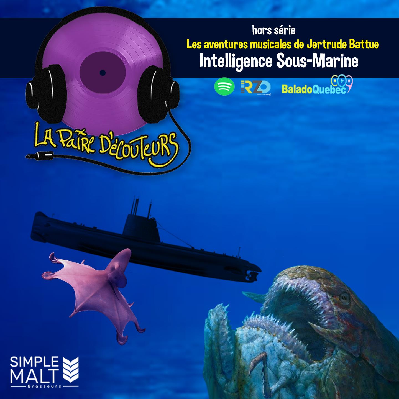 Les aventures musicales de jertrude Battue : Intelligence sous marine